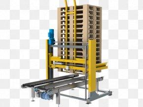 Full Pallet - Pallet Machine Conveyor Belt Stacker Chain Conveyor PNG