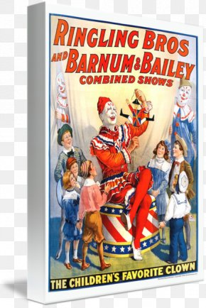 Poster Circus - Ringling Brothers Circus Poster Ringling Bros. And Barnum & Bailey Circus PNG