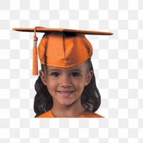 Kindergarten Graduation - Cap Robe Gown Hat Graduation Ceremony PNG