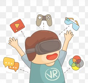 Vector Eye Worn VR Child Creative - Eye Clip Art PNG