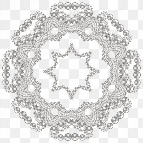 Flowers Diamond Jewelry - Black And White Stock Photography Alamy Pattern PNG