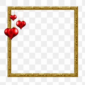 Love Frame - Picture Frame PNG