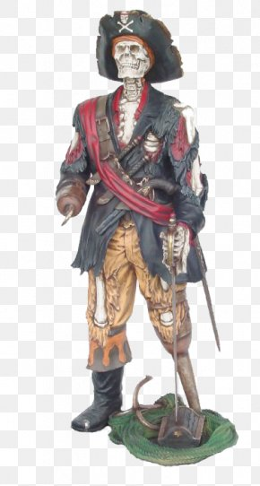 Pirates Of The Caribbean - Piracy Captain Hook Jack Sparrow Statue Pirates Of The Caribbean PNG