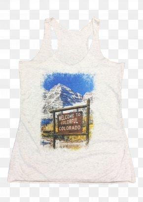 T-shirt - T-shirt Maroon Bells Hoodie Top Clothing PNG