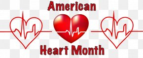Attack Cliparts - United States American Heart Month American Heart Association February PNG