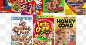 Junk Food - Breakfast Cereal Junk Food Cookie Crisp PNG