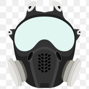 Gas Mask - Gas Mask Respirator Dust Mask Survival Kit PNG