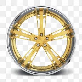 Wheel Rim - Rim Alloy Wheel Forging Gold PNG