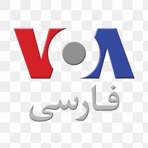 Voice Of America United States Of America Logo VOA-PNN Persian Language PNG
