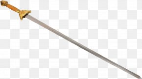 The Cold Steel Sword - Angle Weapon PNG