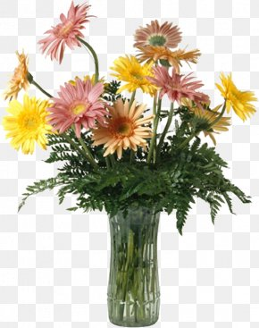 Daisy Vase - Flowers In A Vase Vase Of Flowers PNG