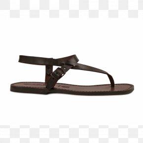 Sandal - Flip-flops Sandal Leather Slipper Shoe PNG