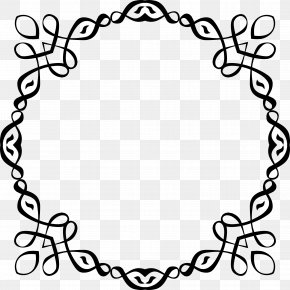 Abstract Border - Wedding Invitation Picture Frames Clip Art PNG