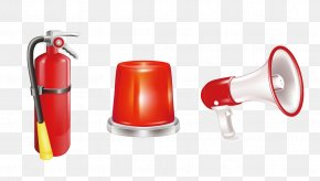 Vector Horn Fire Extinguisher - Firefighter Firefighting Apparatus Fire Equipment Manufacturers' Association Clip Art PNG