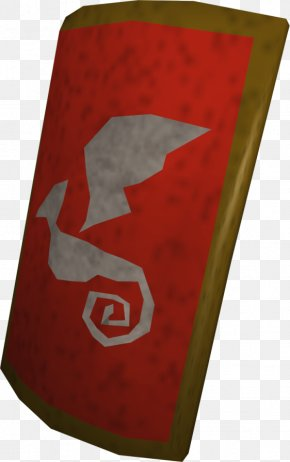 Shield - Kite Shield Red Dragon Square Dragonica PNG