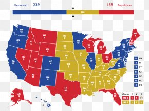 Party WALL - US Presidential Election 2016 President Of The United States Electoral College PNG