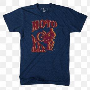Motocross T Shirt - Printed T-shirt Clothing Sleeve Levi Strauss & Co. PNG