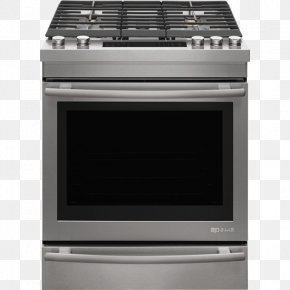 Stove - Cooking Ranges Gas Stove Jenn-Air Home Appliance Stainless Steel PNG