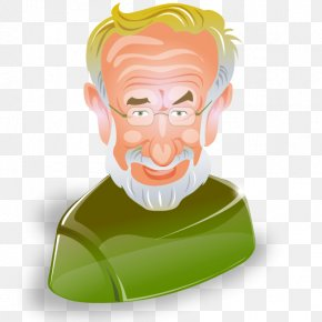 The Old Man - Film Director Clip Art PNG