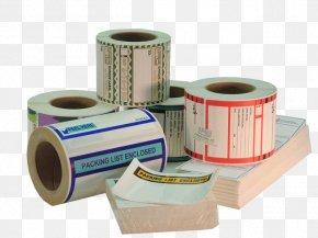Packaging Label - Label Printer Unique Label Inc. PNG