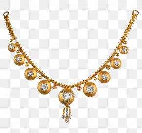 Necklace - Pearl Necklace Jewellery Jewelry Design Gold PNG