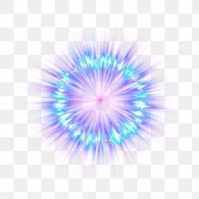 Blue Fade Light Effect Element - PicsArt Photo Studio Sticker Explosion Destello Fireworks PNG