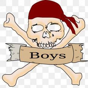 Piracy Boy - Piracy Sea Of Thieves Jolly Roger Skull & Bones Clip Art PNG