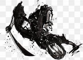 Japanese Samurai Ink - Samurai Download PNG