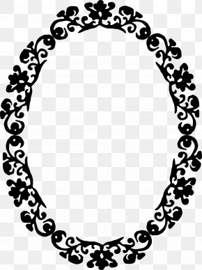 Oval Borders - Borders And Frames Vintage Clothing Picture Frames Clip Art PNG