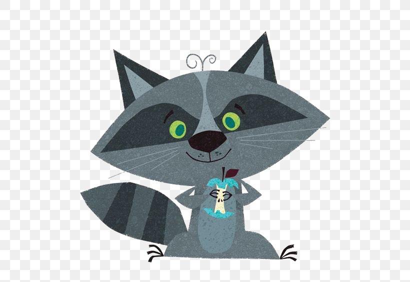 Raccoon Drawing Cartoon Whiskers Illustration, PNG, 564x564px, Raccoon, Art, Carnivoran, Cartoon, Cat Download Free