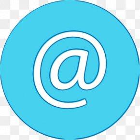 Symbol Electric Blue - Aqua Turquoise Circle Font Clip Art PNG