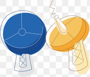 Weather Forecast Vector - Satellite Cartoon PNG