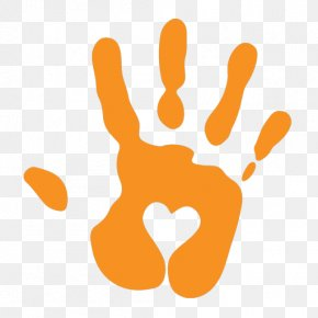Hand Prints - Heart Stock Photography Clip Art PNG
