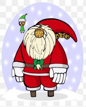Santa Claus - Santa Claus Christmas Ornament Food Clip Art PNG