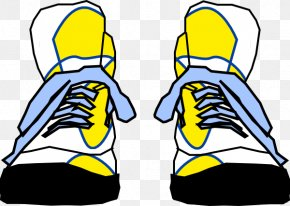 Sneaker Cliparts - Sneakers High-top Converse Shoe Clip Art PNG