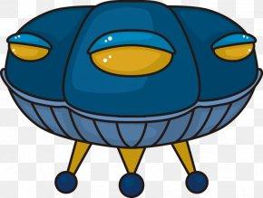Cartoon UFO UFO - Unidentified Flying Object Cartoon Icon PNG
