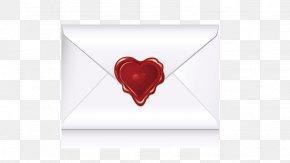 Envelope - Love Heart Font PNG