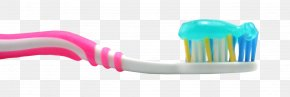 Tooth Brush With Tooth Paste - Toothbrush Beauty PNG