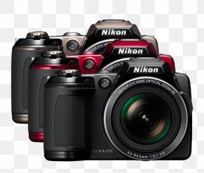 Black Nikon Coolpix L120 14.1 MP Compact Digital Camera720pBlack Zoom LensAssassin's Creed Odyssey - Nikon Coolpix L120 14.1 MP Compact Digital Camera PNG