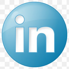 Social Linkedin Button Blue Icon | Social Bookmark Iconset | YOOtheme - LinkedIn Social Network Social Bookmarking PNG