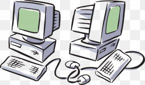 Computer Monitor Accessory Output Device - Science Cartoon PNG