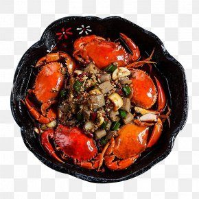 Spicy Stir-fried Crab - Crab Seafood Pungency Wok PNG