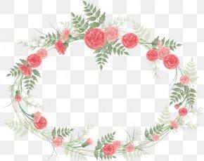 Wedding Floral - Borders And Frames Flower Picture Frames Floral Design Clip Art PNG