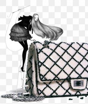 Chanel - Chanel Fashion Illustration Illustrator Drawing Laura Laine PNG