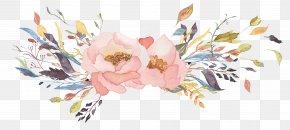 Watercolor Leaves - Watercolour Flowers Watercolor Painting Floral Design Clip Art PNG