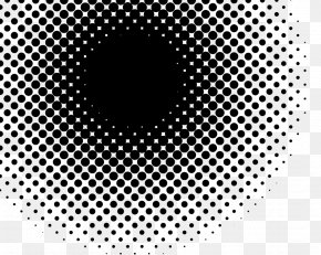 Halftone - Halftone Black And White Stock Photography PNG