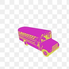 School Bus - School Bus Cartoon PNG