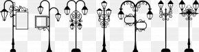Street Light Silhouette - Street Light Lighting PNG