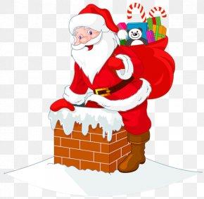 Santa Claus PNG - Santa Claus's Reindeer Christmas Clip Art PNG