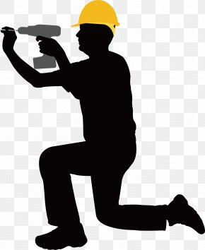 Mounting Screw - Construction Worker Laborer Architectural Engineering Clip Art PNG